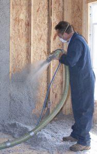 Nu-wool res wallspray blow
