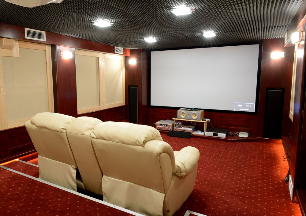 Soundproof Insulation for Entertainment Room