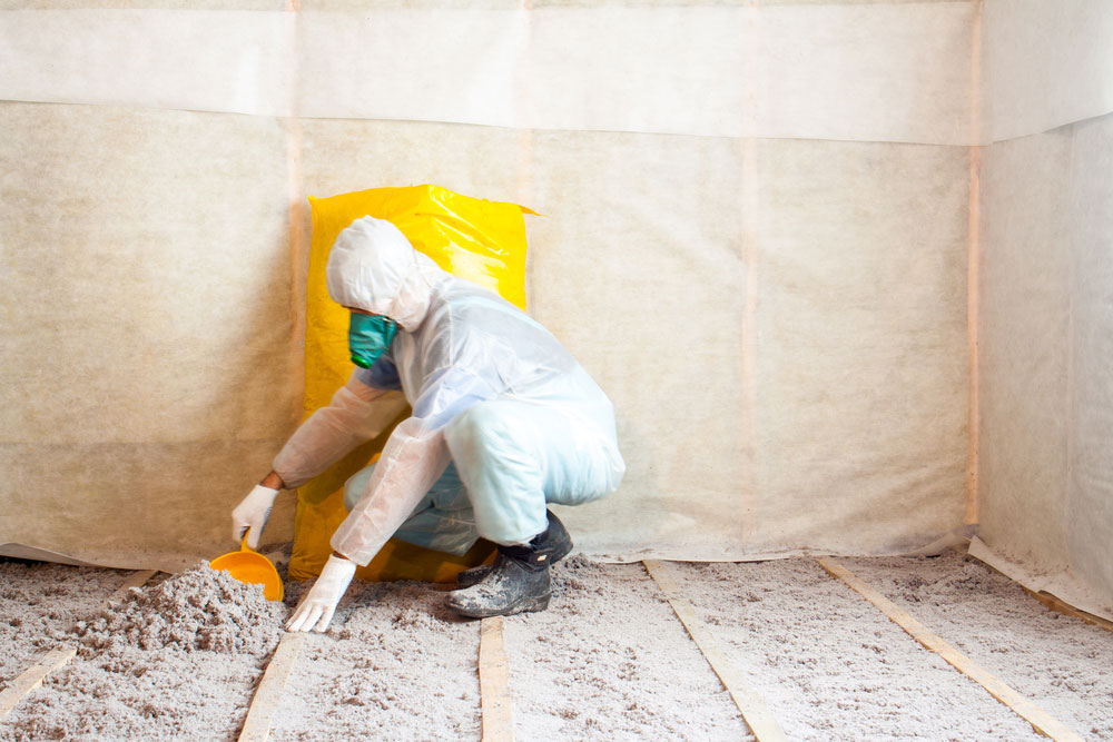 Insulation Contractor with Blow-In Insulation